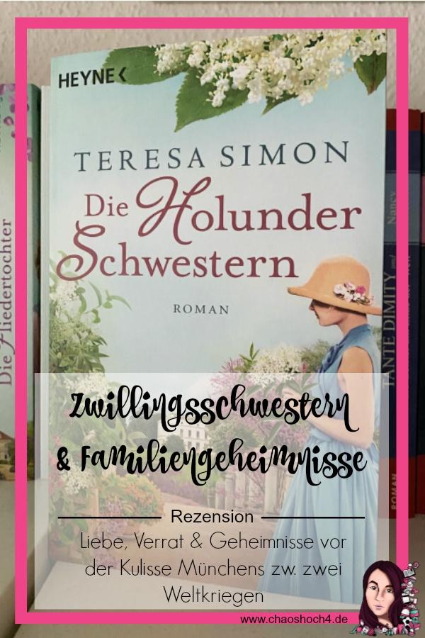 Rezension Die Holunderschwestern von Teresa Simon erschienen im Heyne Verlag - Buchvorstellung von Chaoshoch4