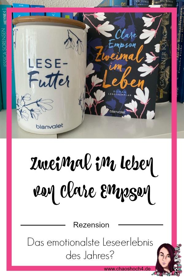 Buchvorstellung / Rezension zu Zweimal im Leben von Clare Empson aus dem Blanvalet Verlag